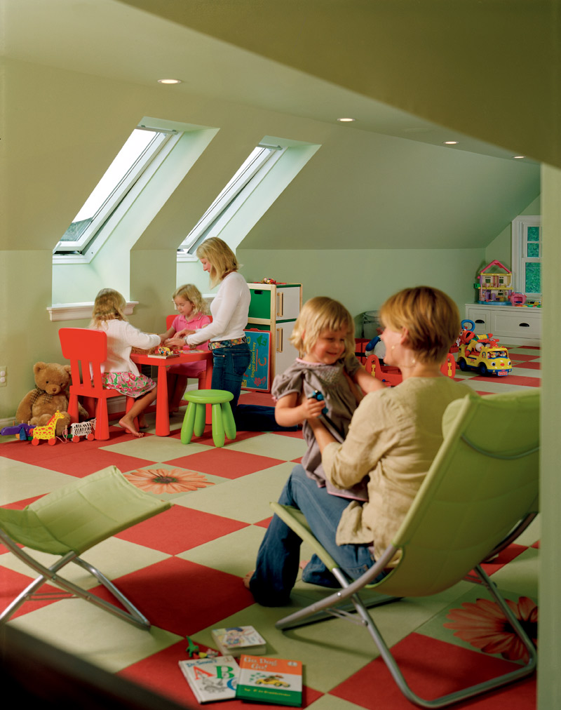 Office and playroom design gallery michigan office for Office playroom