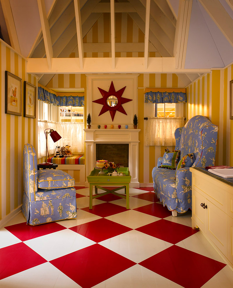 Office and playroom gallery michigan office designer for Interior playhouse designs